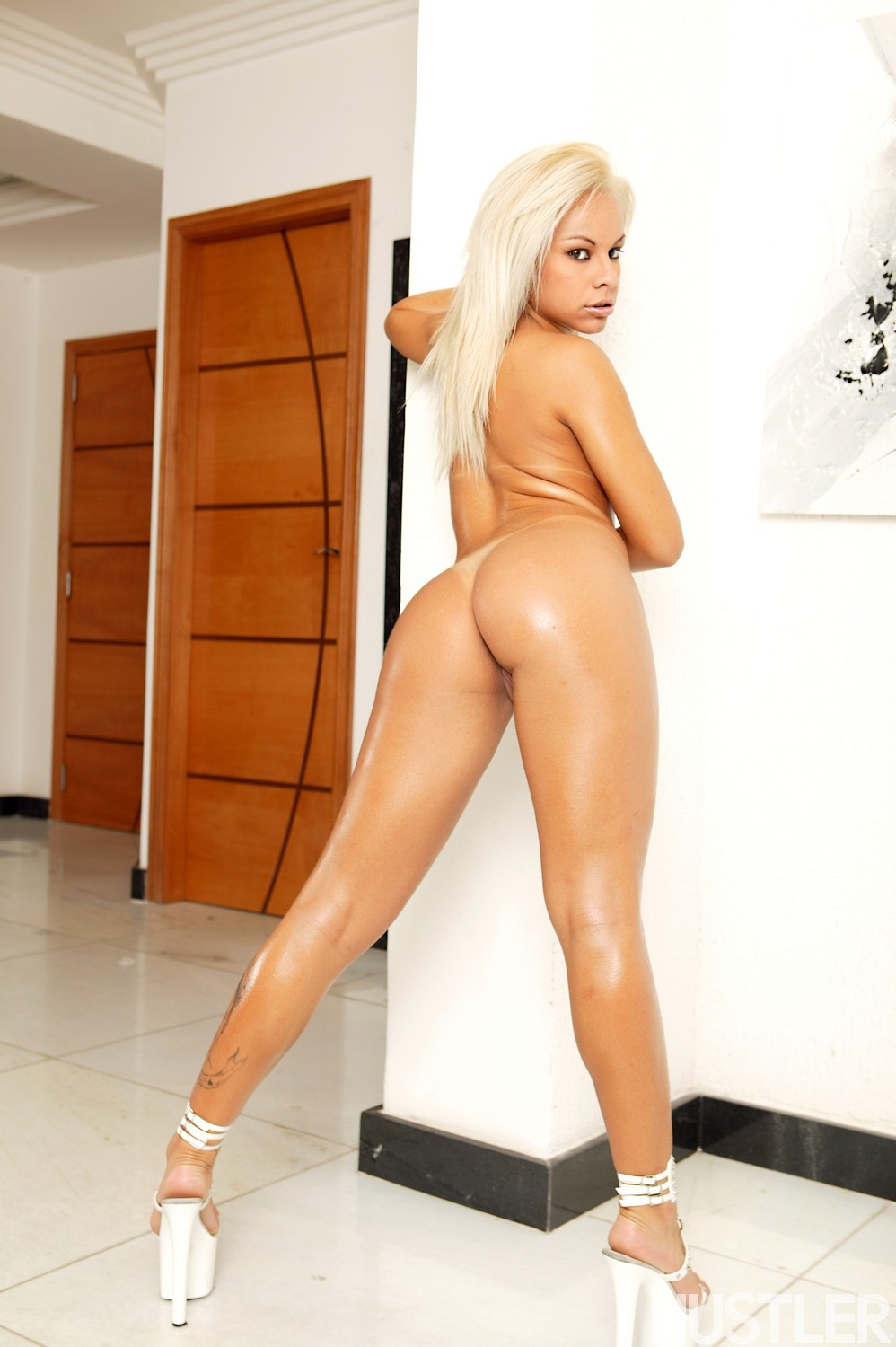 image Hot brazilian oiled up and fucked